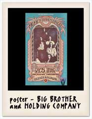 Tiffany Shade with Big Brother and the Holding Company poster